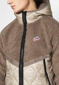 Nike Sportswear - WINTER - Winter jacket - olive grey/mystic stone/life lime - 5