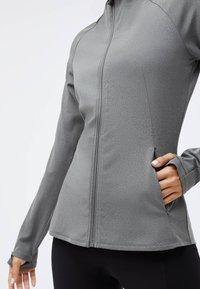 OYSHO - Training jacket - light grey - 2
