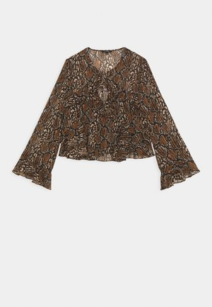 REILLY BLOUSE - Blouse - brown