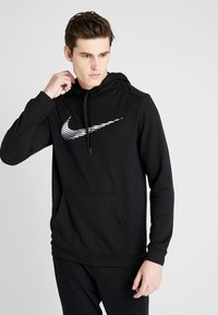 Nike Performance - DRY HOODIE - Jersey con capucha - black - 0