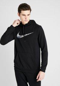 Nike Performance - DRY HOODIE - Sweat à capuche - black - 0