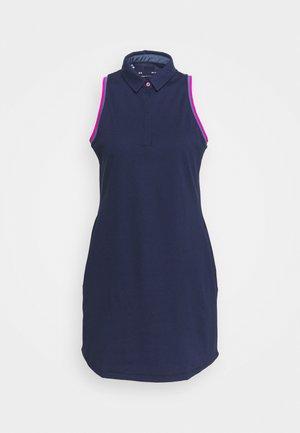 ZINGER DRESS - Sportovní šaty - midnight navy