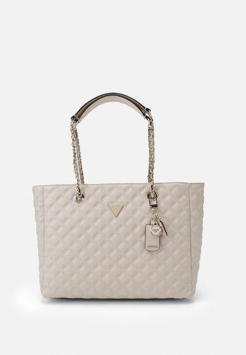 CESSILY TOTE - Handbag - stone