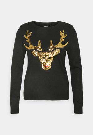 ONLXMAS  - Jumper - black