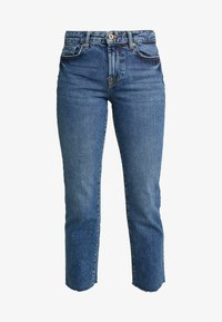Pieces - PCHOLLY STRAIGHT  - Jeans Straight Leg - blue denim - 4