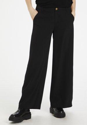 CUCHANAN PANTS - Trousers - black
