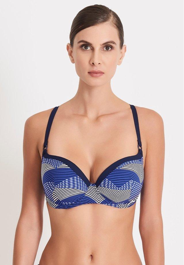 SOUPIR DES MERS - Haut de bikini - blue
