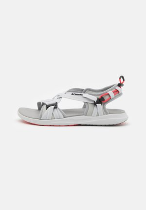Outdoorsandalen - grey ice/red coral
