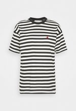 PARKER - T-shirt print -  black/wax