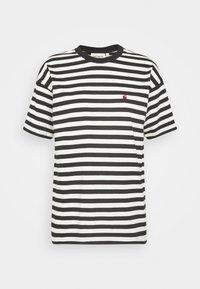 Carhartt WIP - PARKER - Print T-shirt -  black/wax - 4
