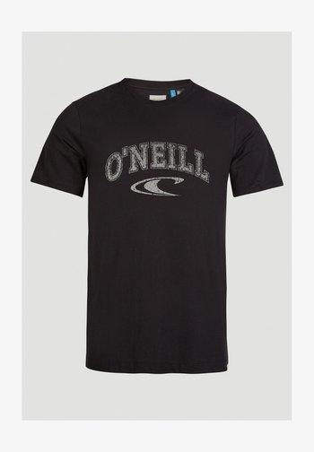 Camiseta estampada - black out