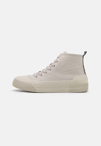 MID  - High-top trainers - sable