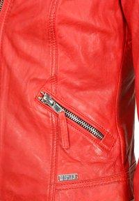 Mustang - Leren jas - flame red - 2