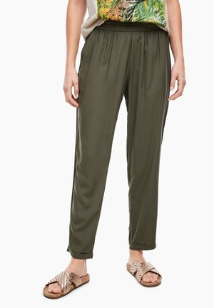Trousers - olive