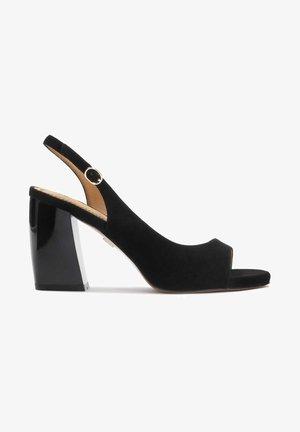 MELINDA  - High heeled sandals - black