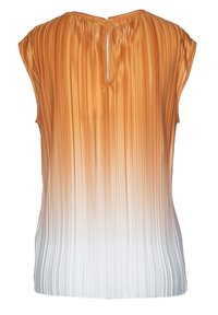 BOSS CASUAL - EZZIE - Blouse - orange white - 1