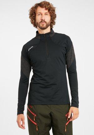 SKIROLLI ALTO - T-shirt à manches longues - black