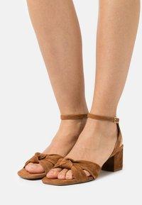 Zign - Sandals - cognac - 0