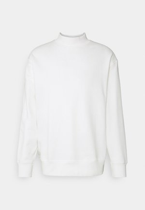 SLHLOOSEDAWSON HIGH NECK - Sweatshirt - egret