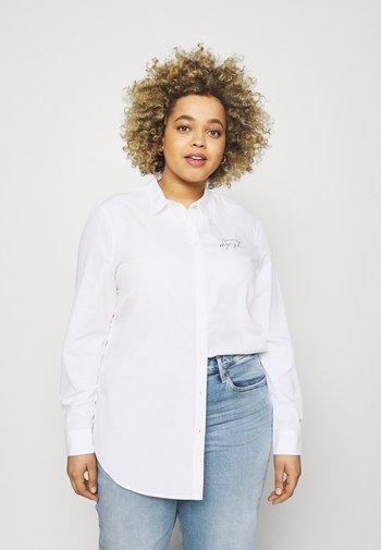 REGULAR SHIRT - Blouse - optic white