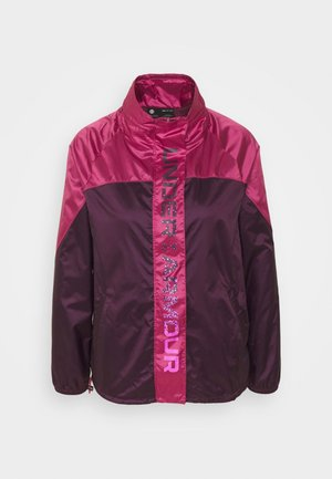 RECOVER SHINE  - Training jacket - polaris purple