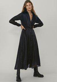 Massimo Dutti - Maxi dress - dark grey - 0