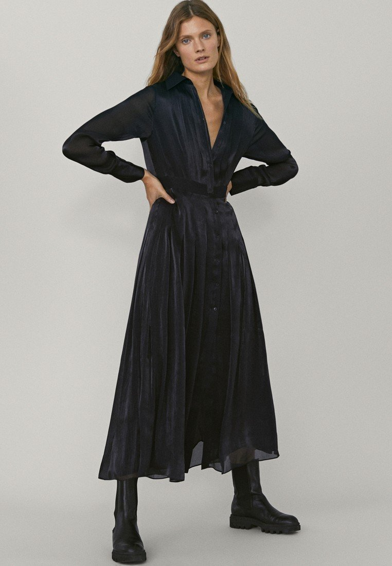 Massimo Dutti - Maxi dress - dark grey