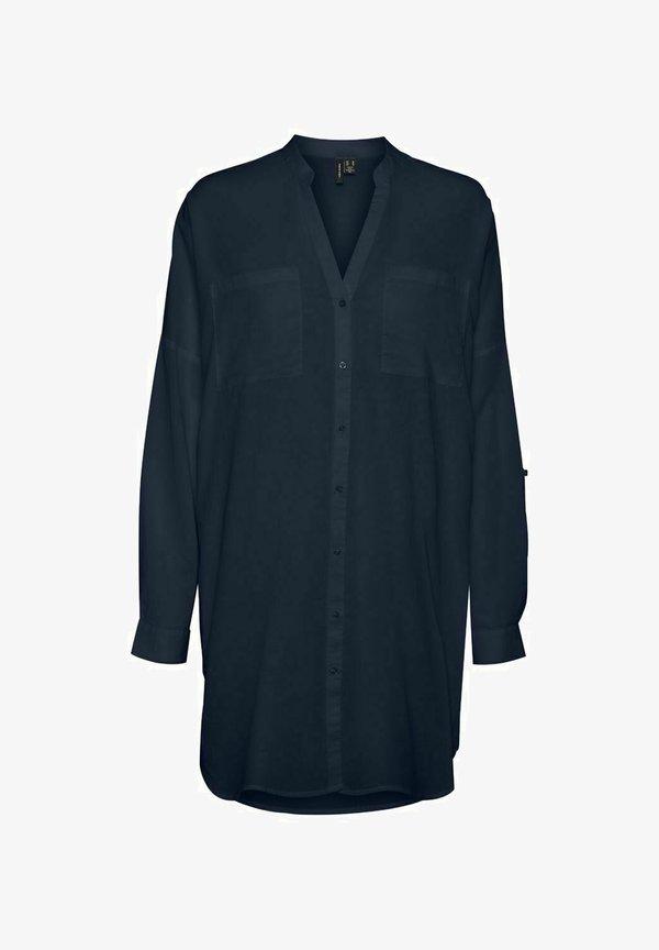 Vero Moda Bluzka - navy blazer/granatowy DIXH