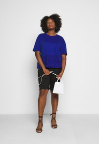 Dr.Denim Plus - LEXY - Denim shorts - black - 1