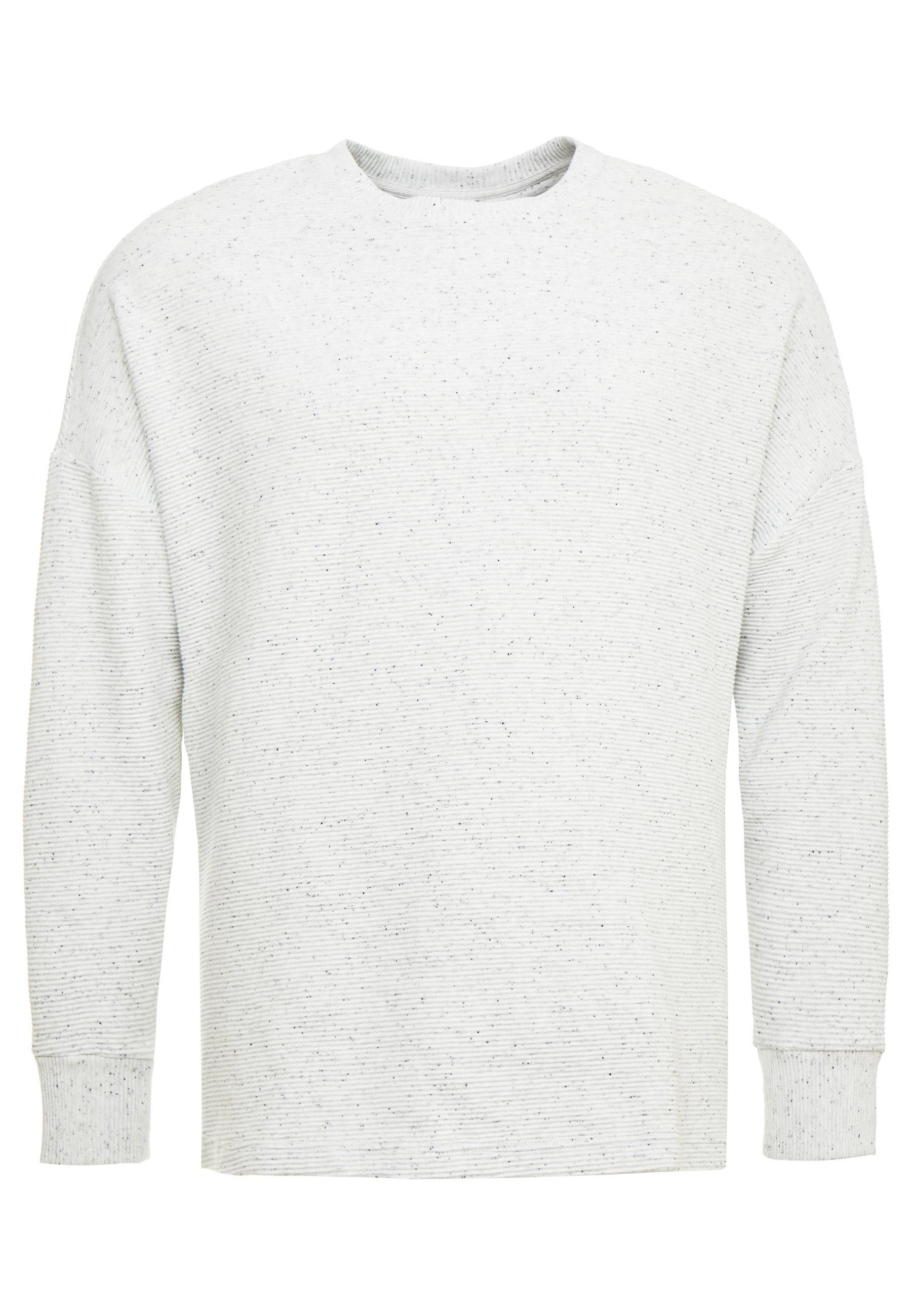 Herren CUT ON SLEEVE CREW PLUS SIZE - Sweatshirt