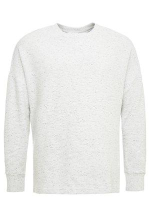CUT ON SLEEVE CREW PLUS SIZE - Sweatshirt - lightgrey