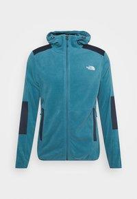 The North Face - DIABLO  HOODIE  - Fleece jacket - mllrdbl/urbnavy - 4