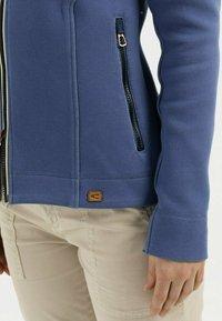 camel active - SCUBA - Zip-up sweatshirt - blue - 4