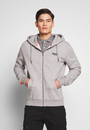 ORANGE LABEL CLASSIC ZIP HOOD - Zip-up hoodie - silver