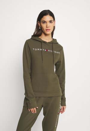 TOMMY ORIGINAL CTN OH HOODIE RIB - Pyjama top - army green
