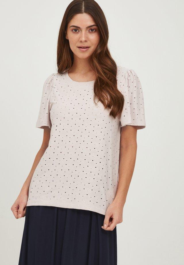 IHUMAY  - T-shirt con stampa - hushed violet