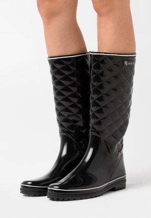 VENISE QUILT - Wellies - noir