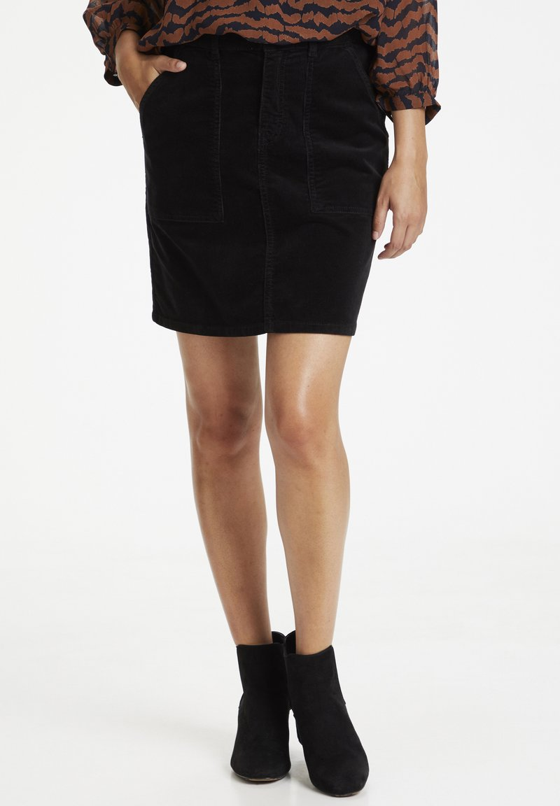 Part Two - A-line skirt - black