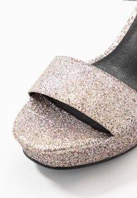 Glamorous - Sandalias de tacón - pink glitter - 2