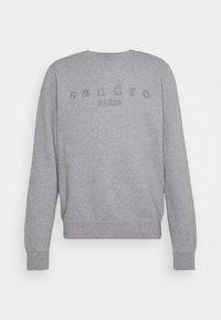sandro - CREW  - Sweatshirt - gris chiné - 3