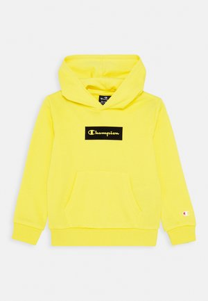 AMERICAN PASTELS HOODED UNISEX - Collegepaita - yellow