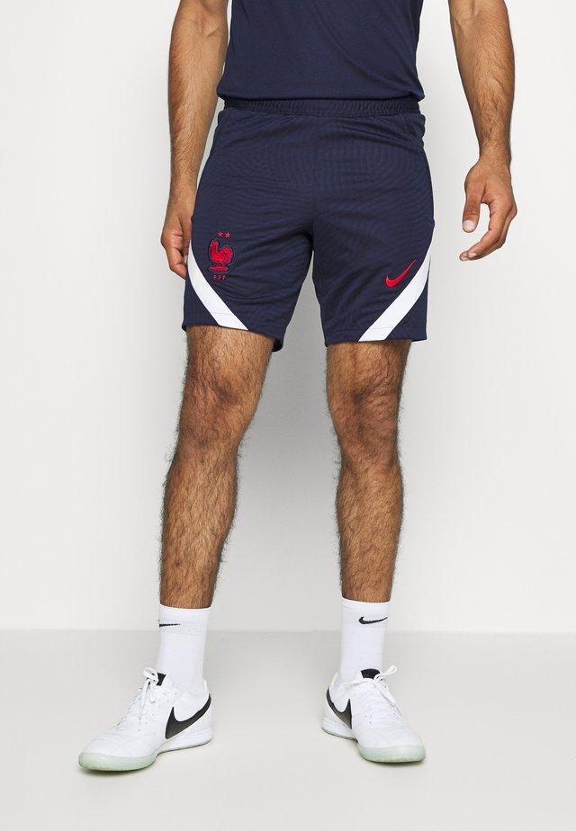 FRANKREICH FFF DRY SHORT - Short de sport - blackened blue/white/university red