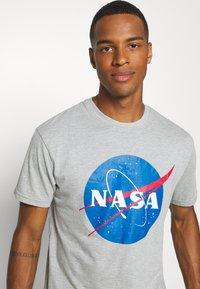 Nominal - NASA - Print T-shirt - grey marl - 3