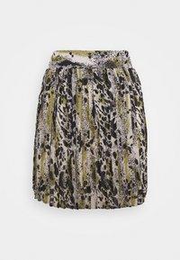 VILA PETITE - VIJEMO SKIRT - Mini skirt - birch - 0