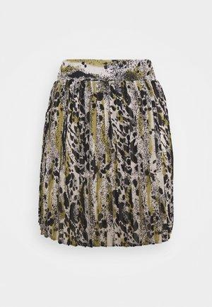 VIJEMO SKIRT - Mini skirt - birch