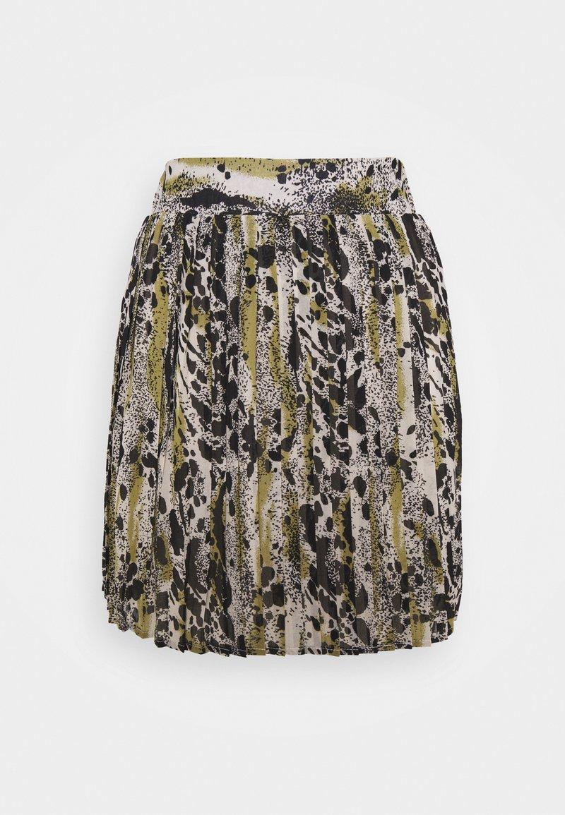 VILA PETITE - VIJEMO SKIRT - Mini skirt - birch