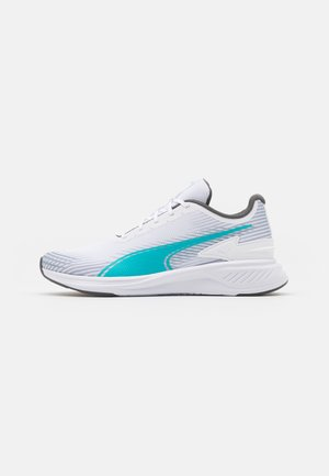 ARRIBA - Neutral running shoes - white/scuba blue