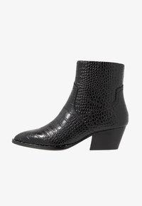 ALDO - AGROACIA - Cowboy/biker ankle boot - black - 1