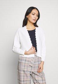 Esprit Collection - BOLERO W LACE - Gilet - off white - 0
