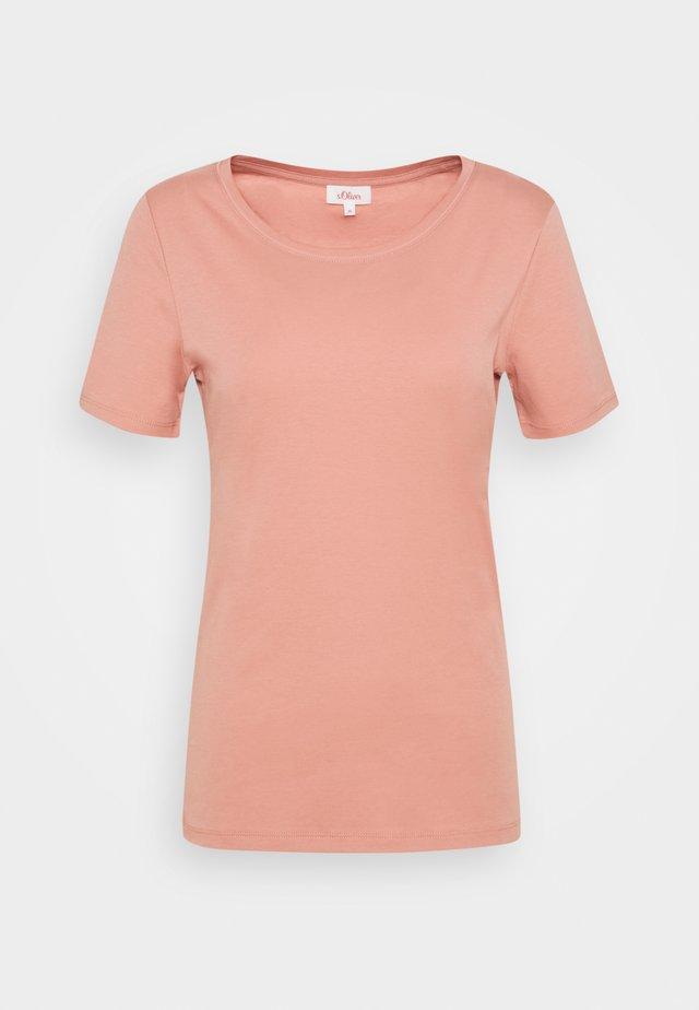 KURZARM - Jednoduché triko - blush